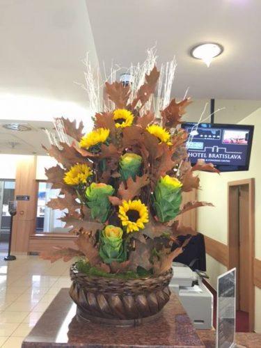 Výzdoba hotelov - Flora Shop ateliér