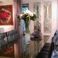 Dekorácie priestorov Gordana Glass pre event spoločnosti BMW - Flora Shop ateliér