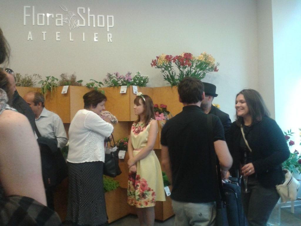 Otvorenie - Flora Shop ateliér