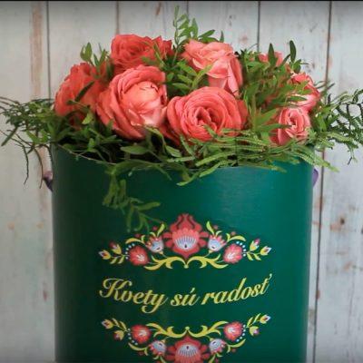 Pink Beauty v ETU DE FLEURS obale - Flora Shop ateliér