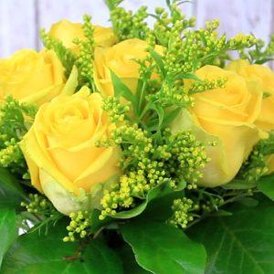 Žlté prekvapenie - Flora Shop ateliér