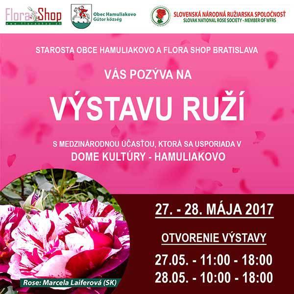 Výstava ruží 2017